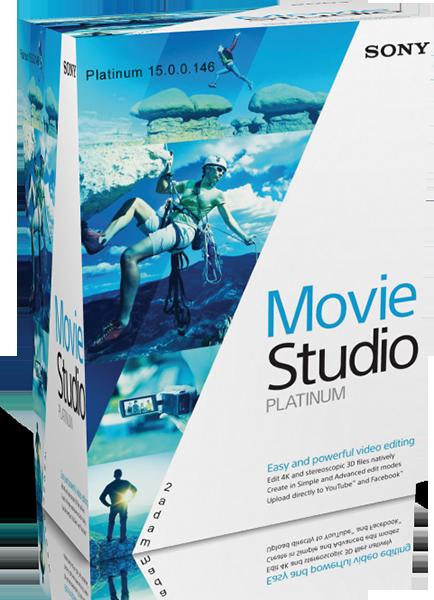 MAGIX VEGAS Movie Studio Platinum 15.0.0.146 (PL)