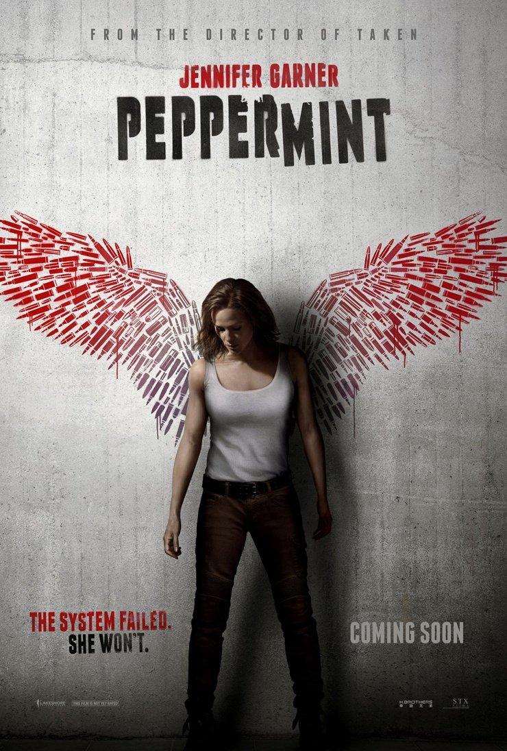 Smak zemsty. Peppermint / Peppermint (2018) PL.1080p.BluRay.DD2.0.x264-P2P / Lektor PL i Napisy PL