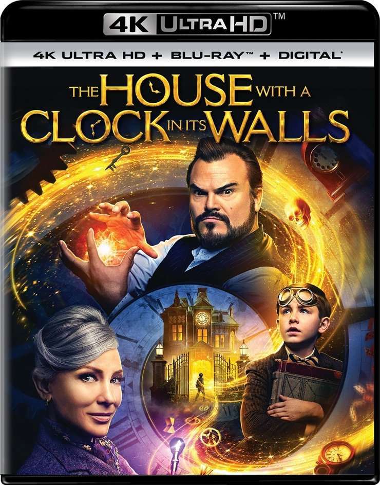Zegar czarnoksiężnika / The House with a Clock in its Walls (2018) PLDUB.2160p.UHD.BluRay.DD5.1.x265-P2P / Dubbing PL